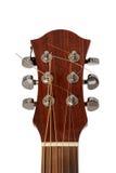Ascendente cercano de la guitarra Fotografía de archivo libre de regalías