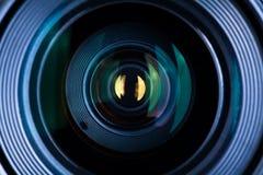 Ascendente cercano de la lente Imágenes de archivo libres de regalías