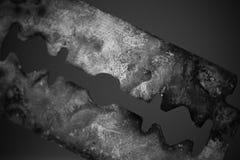 Ascendente cercano de la maquinilla de afeitar Fotografía de archivo libre de regalías