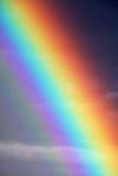 Ascendente cercano del arco iris Imágenes de archivo libres de regalías