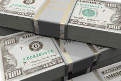 Ascendente cercano del dinero Imágenes de archivo libres de regalías