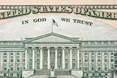 Ascendente cercano del dinero en circulación Fotografía de archivo libre de regalías