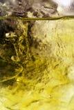 Ascendente cercano del hielo y del agua Imagenes de archivo