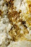 Ascendente cercano del mineral Fotos de archivo libres de regalías