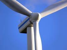 Ascendente cercano del molino de viento Foto de archivo libre de regalías