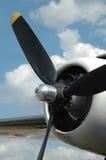 Ascendente cercano del propulsor Imagenes de archivo
