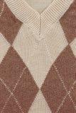 Ascendente cercano del suéter Fotos de archivo libres de regalías