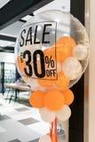 Ascendente fechado do detalhe original do balão da decoração Imagem de Stock Royalty Free