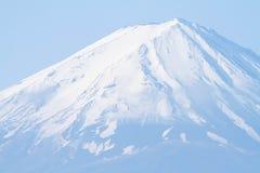Ascendente fechado a parte superior do Mt fuji Fotos de Stock