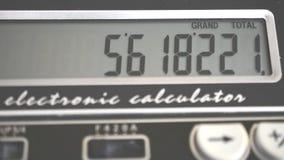 Ascendente próximo da calculadora video estoque