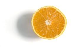 Ascendente próximo da laranja Foto de Stock