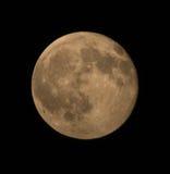 Ascendente próximo da Lua cheia fotos de stock