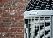 Ascendente próximo do condicionador de ar Imagens de Stock