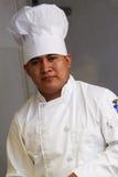 Ascendente próximo do cozinheiro chefe Imagem de Stock Royalty Free