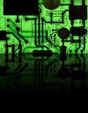 Ascendente próximo do dispositivo electrónico: conceito da tecnologia Imagens de Stock