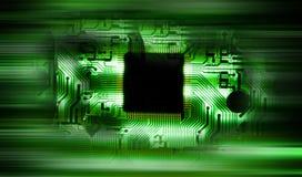 Ascendente próximo do dispositivo electrónico: conceito da tecnologia Fotografia de Stock