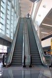 Ascending escalator Royalty Free Stock Photos