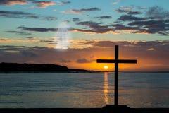 Ascending Jeus Christ Stock Image