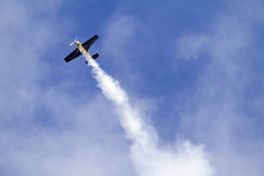 Ascending plane Royalty Free Stock Photos