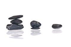 Ascending stones. Zen concept with ascending stones and shadows Stock Photos