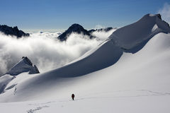 Ascending To The Summit (2) Royalty Free Stock Image