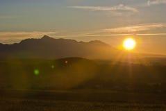 Ascensão de Sun Imagem de Stock