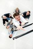 Ascensão a escada Imagem de Stock