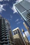 Ascensões da elevação da cidade de Sydney Imagem de Stock