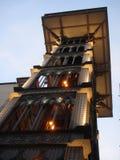 Ascenseur dans Lisabon Images libres de droits
