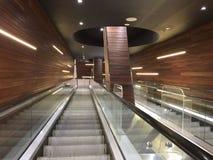 Ascenseur dans un centre commercial Images libres de droits