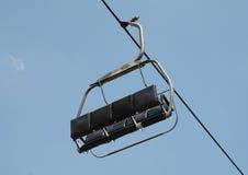 Ascenseur de chaise vide Image libre de droits