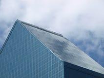 Ascenseur de nuages au-dessus des hausses élevées Images libres de droits