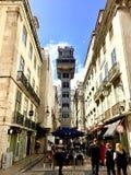 Ascenseur de Santa Justa photo libre de droits