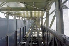 Ascenseur de tour de sauts à skis Photos libres de droits