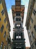 Ascenseur de ville de Lisbonne Image stock