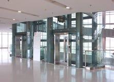 Ascenseur en verre photo libre de droits