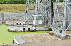 Ascenseur hydraulique numéro 1 de bateau de Louviere Image stock