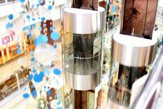 Ascenseur panoramique image libre de droits