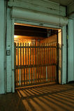 Ascenseur très vieil Image libre de droits