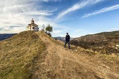 Ascensión de la capilla de Jesús en Bulgaria foto de archivo