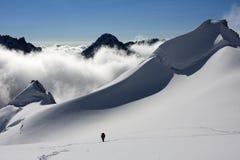 Ascensión a la cumbre (2) Imagen de archivo libre de regalías