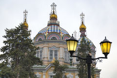Ascension Cathedral, Almaty Royalty Free Stock Photos