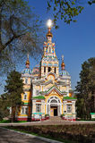 Ascension Cathedral in Almaty Stock Images