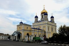 The ascension Cathedral in Elets, Russia Stock Images