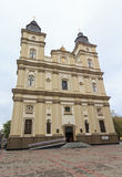 Ascension Cathedral of the Greek-Catholic Church. Ivano-Frankivsk Royalty Free Stock Photography