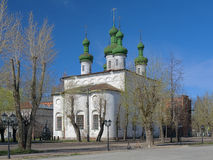 Ascension Church in Kineshma Stock Image
