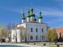 Ascension Church in Kineshma, Russia Royalty Free Stock Photography