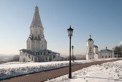 Ascension church in Kolomenskoe Stock Image