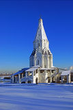 Ascension Church in Kolomenskoe, Moscow, Russia. Royalty Free Stock Photography