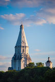 Ascension church in Kolomenskoye in Moscow Royalty Free Stock Image